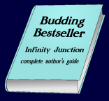 Budding Bestseller book- note it is now sold as an electronic file in .pdf format - all reasonably modern PCs and Macs can read and print this using Acrobat Reader or similar. (This keeps the price down.)